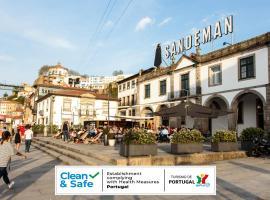 The House of Sandeman - Hostel & Suites, ξενοδοχείο κοντά σε Γέφυρα D. Luis I, Βίλα Νόβα ντε Γκάια