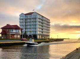 Apartamenty w Marina Royale, serviced apartment in Darlowko