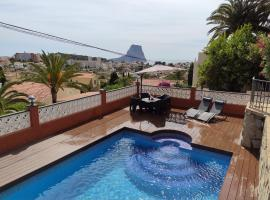 PRECIOSA VILLA CON VISTAS AL MAR, cottage in Calpe