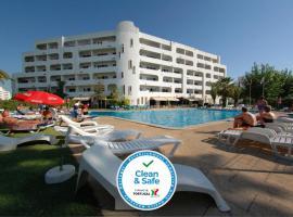 Apartamentos Turisticos Silchoro, hotel perto de Estação Ferroviária de Tunes, Albufeira