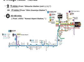 04village Namba, hotel near Horikoshi Shrine, Osaka