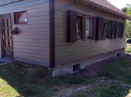 Le petit penchant, cabin in Saint-Amé