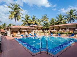 Leoney Resort Goa, spa hotel in Vagator