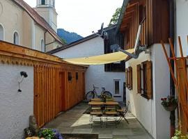 Fewo Schönes Ammertal, Ferienwohnung in Oberammergau