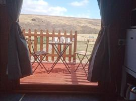 Wee Hoose Glamping Pod 1, glamping site in Skail