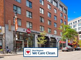 Best Western Plus Hotel Montreal, hotel in Montreal