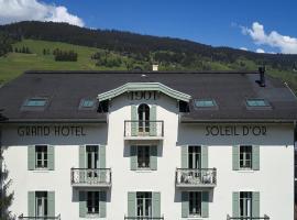 Grand Hotel Soleil d'Or, отель в Межеве