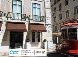 Lisboa Prata Boutique Hotel, hotel near Terreiro do Paço Metro Station, Lisbon