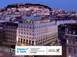 Altis Avenida Hotel, hotel near Santa Justa Elevator, Lisbon
