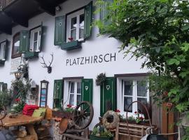 Platzhirsch zur alten Wagnerei, hotel in St. Wolfgang