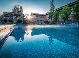 Spa Hotel Dvoretsa, hotel Velingradban
