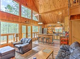 Central Black Hills Cabin with Loft and Wraparound Deck, vacation rental in Rapid City