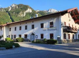 Wirtshaus zum Baumbach, Hotel in der Nähe von: Hochplattenbahn, Aschau im Chiemgau