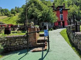 Apartamentos El Rincon Encantado, hotel near The Lakes of Covadonga, Llano-Con