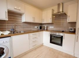 City Centre Executive 2 Bed Apartment with WiFi & Parking, apartment in Aberdeen