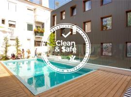 Selina Secret Garden Lisbon, hotel with pools in Lisbon