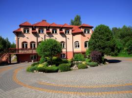 Zajazd u Hermanów – hotel w pobliżu miejsca Sanktuarium Matki Bożej Częstochowskiej w mieście Olsztyn