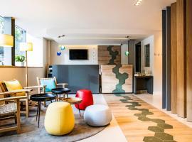 ibis Styles Barcelona Centre, hotel poblíž významného místa Sagrada Familia, Barcelona