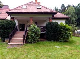 Leśniczówka Agroturystyka Gabriela Pieczka, family hotel in Tuchola