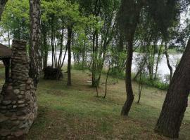 Domek Nad Jeziorem Wojnowskim 1, hotel near Zielona Gora/Babimost Airport - IEG,