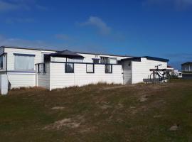 AMELAND - Ballum: Stacaravan Chalet (incl. fietsen) bij strand en zee, holiday home in Ballum