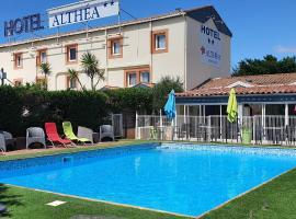 Hôtel Althea - Piscine et Sauna, hotel near Mediterranee Stadium, Béziers