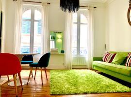 L'appartement d'Agathe, apartment in Trouville-sur-Mer