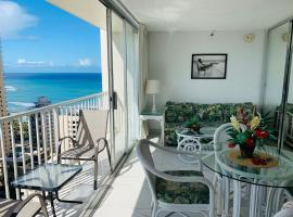 Fantastic Views Great Location, serviced apartment in Honolulu