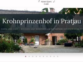 Krohnprinzenhof Hotel Garni und Ferienwohnungen, Hotel in der Nähe von: Hauptbahnhof Plön, Fargau-Pratjau