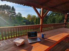 Słoneczna Dolina nad Biebrzą – hotel w mieście Goniadz