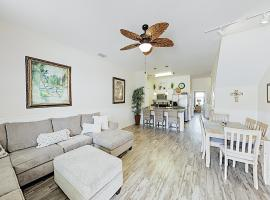 Poolside Beauty w/ Heated Pool - Steps to Beach townhouse, vacation rental in Corpus Christi