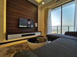 Thermospace Silverscape A-19-01 Melaka City, serviced apartment in Malacca