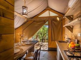 Paradiso del mare, luxury tent in Avola