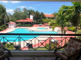 Los Corozos Apartment A2 Guavaberry Golf and Country Club, golf hotel in Juan Dolio