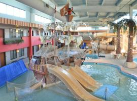 Ramada by Wyndham Sioux Falls Airport - Waterpark Resort & Event Center, hotel v destinaci Sioux Falls