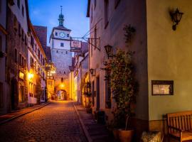 Gästehaus am weißen Turm, hotel in Rothenburg ob der Tauber
