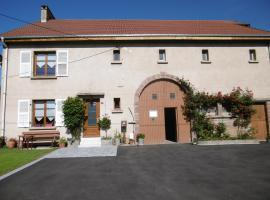 Chez Catherine et Roger, homestay in Brouvelieures