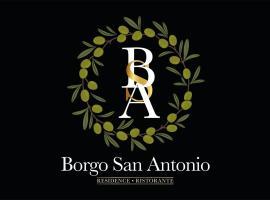 Borgo San Antonio, pet-friendly hotel in Marina di Camerota
