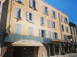 Logis Hôtel Saint Jacques, hotel in Valence