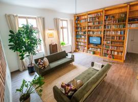 theleaf - design apartment & café, budget hotel in Leipzig