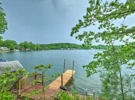 Quiet Cabin on Glen Lake with Boat Dock and Deck!, room in Queensbury