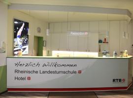 Rheinische Landesturnschule, hotel a Bergisch Gladbach