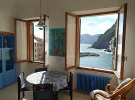 Agretta Sea View Apartment, hotel in Vernazza