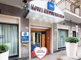 Best Western Hotel Mediterraneo, hotel in zona Casa Museo di Giovanni Verga, Catania
