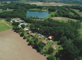 Les chalets de Dordogne, camping à Razac-d'Eymet