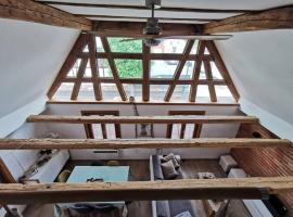 Une Maison à Colombages - Cosy, Lumineuse et Sauna, cabin in Kesseldorf