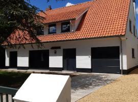 Villa De Strandjutter, self catering accommodation in Nieuwpoort