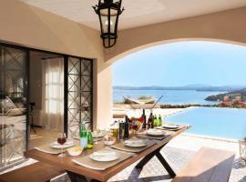 Barbati Villa Sleeps 8 with Pool and Air Con, hotel in Barbati