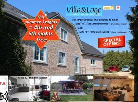 Villa&Loge, hotel near Henri Chapelle Golf, Lontzen