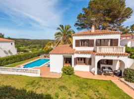 San Jaime Mediterraneo Villa Sleeps 8 with Pool, hotel in Son Bou